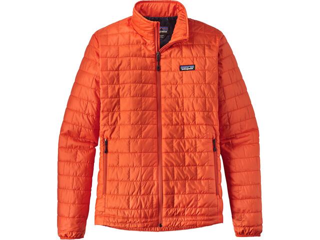 Patagonia Nano Puff Jacket Men Paintbrush Red